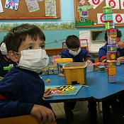 Niño paraguayo H1N1 amenaza